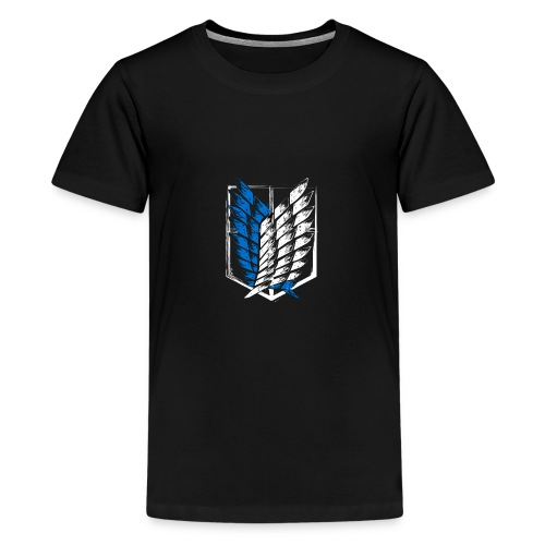 Logo Attack On Titan Brigade d'exploration - T-shirt Premium Ado