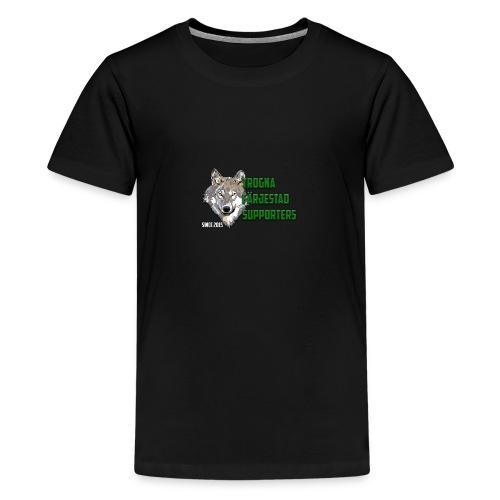 TROGNA FÄRJESTAD SUPPORTERS - Premium-T-shirt tonåring
