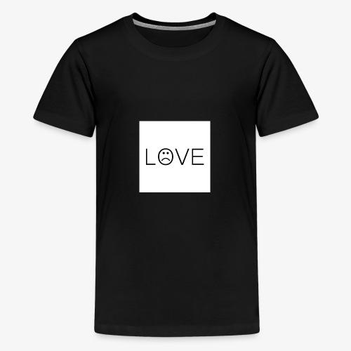 love - Koszulka młodzieżowa Premium