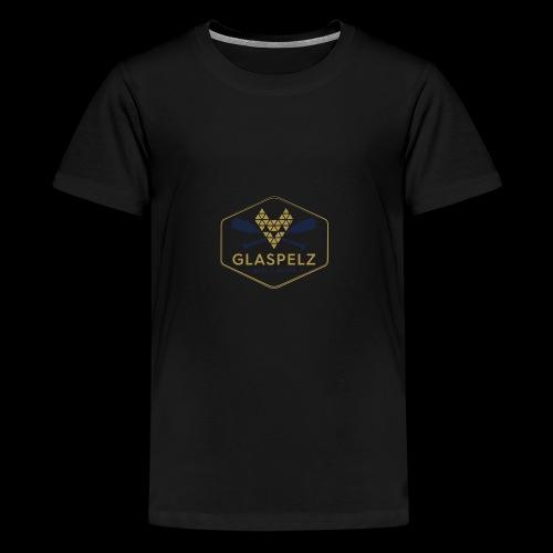 LOGO Glaspelz wine boats - Teenager Premium T-Shirt
