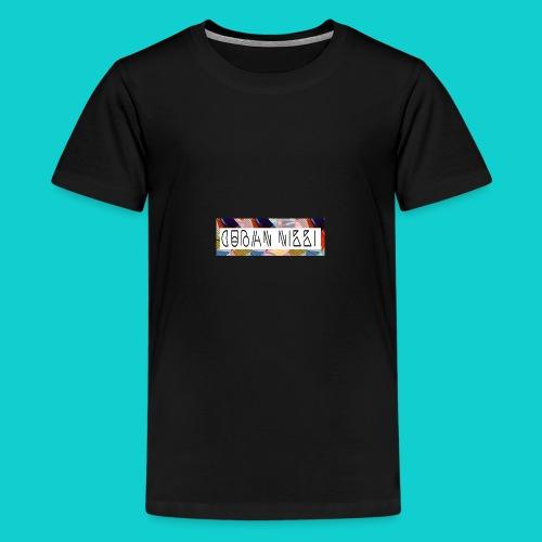 Cuban Nikki Logo - Teenage Premium T-Shirt