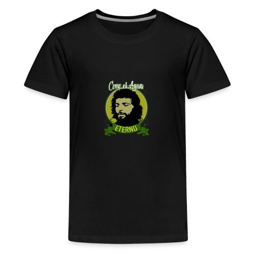 DISEÑO CAMARON COMO EL AGUA - Camiseta premium adolescente