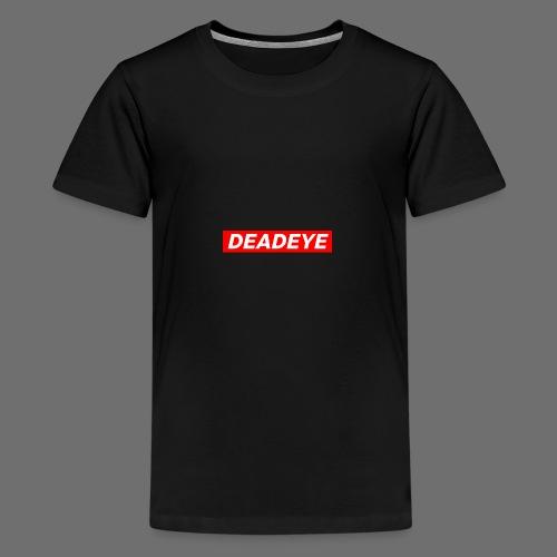 DeadEYE BOXLOGO - Premium T-skjorte for tenåringer
