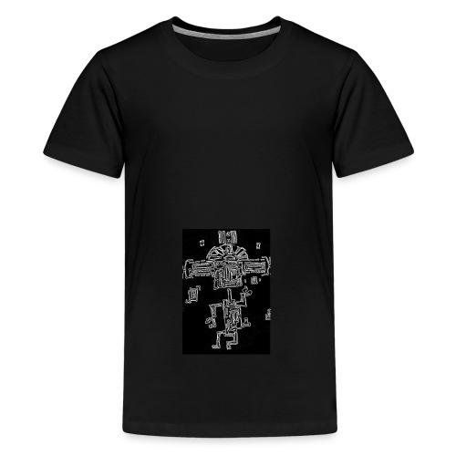 The Dancing Maya - Teenage Premium T-Shirt