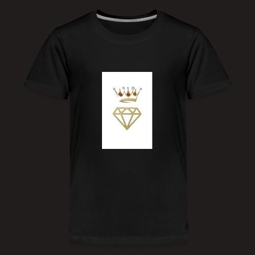 Luxury street wear,luxury logo - Teenage Premium T-Shirt