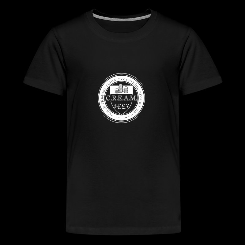 C.R.E.A.M. - Teenager Premium T-Shirt