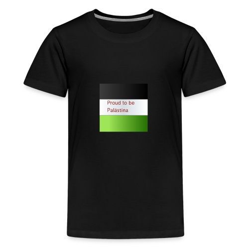 Proud to be Palästina - Teenager Premium T-Shirt