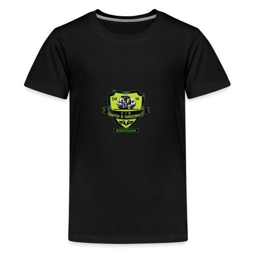 CIS Logo 600px DE - Teenager Premium T-Shirt