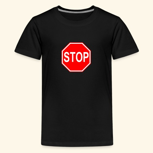 STOP - T-shirt Premium Ado