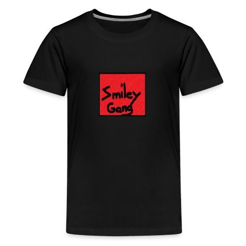 Smileygang - Premium T-skjorte for tenåringer