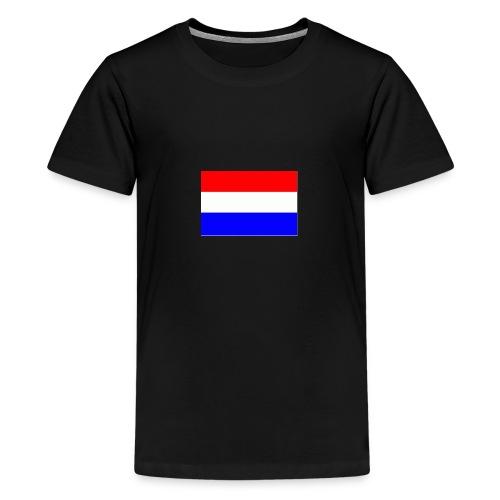 vlag nl - Teenager Premium T-shirt
