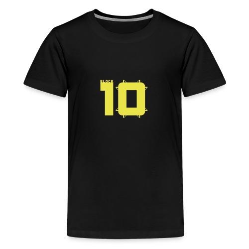 block10 - stadion edition - Teenager Premium T-Shirt
