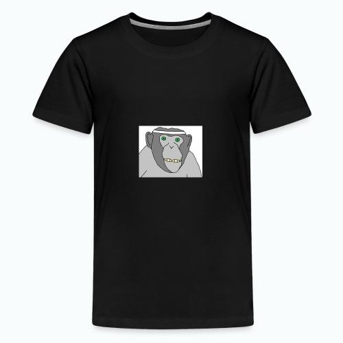 Sporty Chimp - Teenager Premium T-Shirt