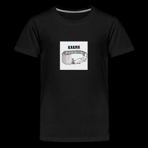 Karma - T-shirt Premium Ado