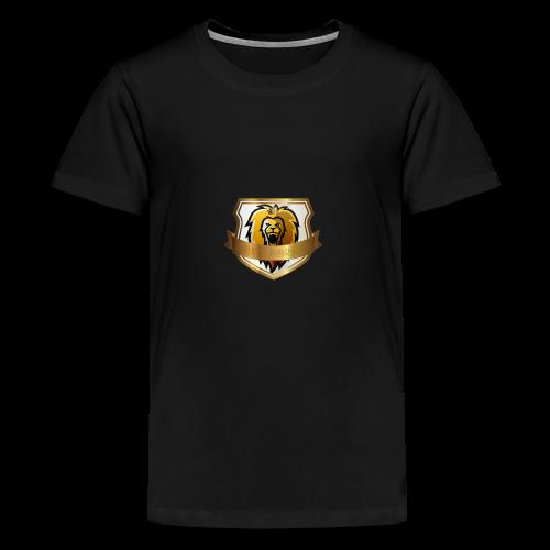 THE ROYAL LION - Teenage Premium T-Shirt