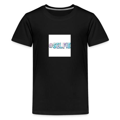 #selfiemerch - Teenage Premium T-Shirt