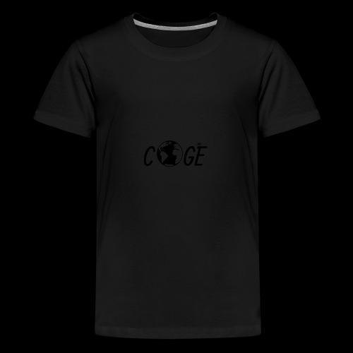 Coge - Premium T-skjorte for tenåringer