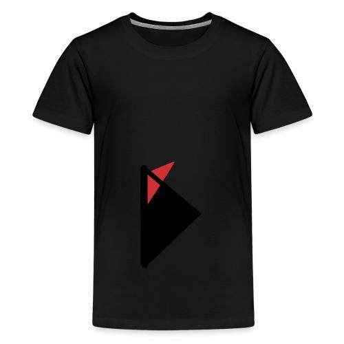 Triangulo con cola. - Camiseta premium adolescente