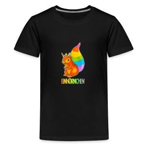 Einhörnchen - Teenager Premium T-Shirt