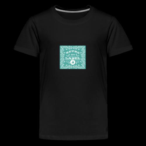 geweihbär RETRO 2018 - Teenager Premium T-Shirt
