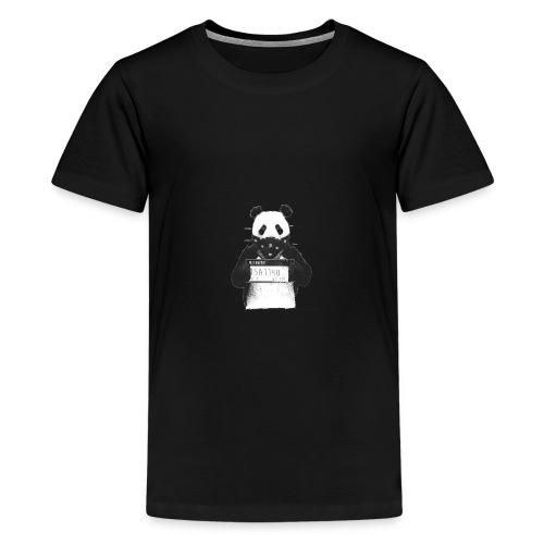 Panda in Knast - Teenager Premium T-Shirt