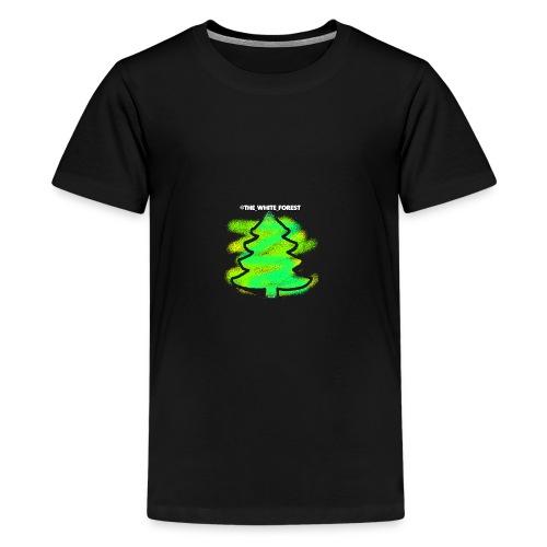 @THE_WHITE_FOREST KOLLEKTION - Teenager Premium T-Shirt