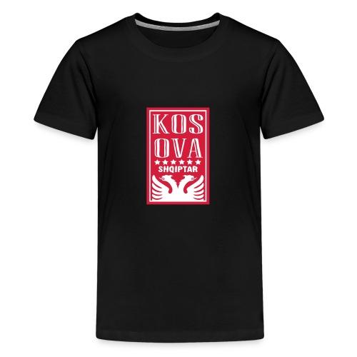 shqiptar design kosova - Teenager Premium T-Shirt
