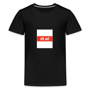 Lit af - Teenage Premium T-Shirt