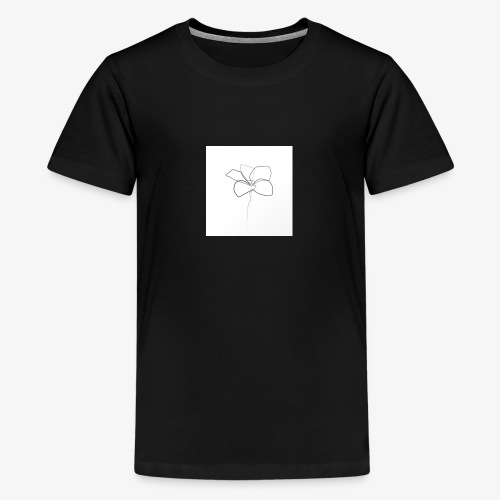 Flower - Teenager premium T-shirt
