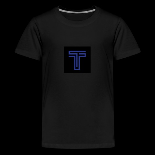YT logo design - Teenage Premium T-Shirt