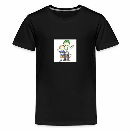 Job & Jelle | Broertjes - Teenager Premium T-shirt
