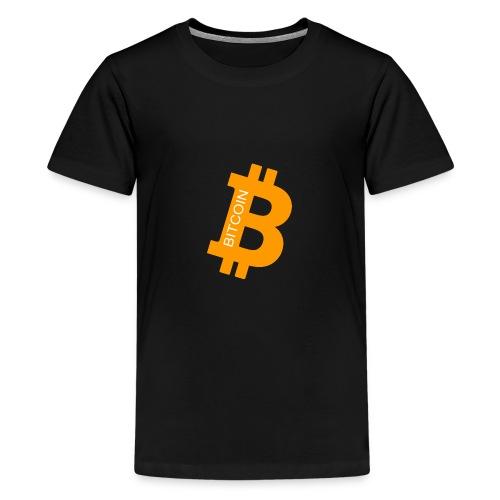 Bitcoin addict - T-shirt Premium Ado