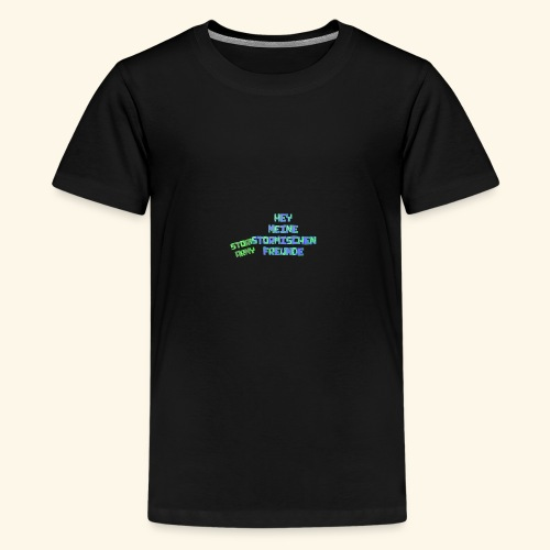 Stormischer Merchandise - Teenager Premium T-Shirt