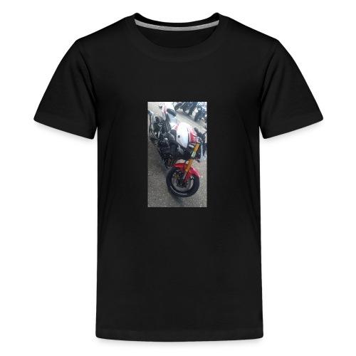 Sweat moto avec capuche - T-shirt Premium Ado