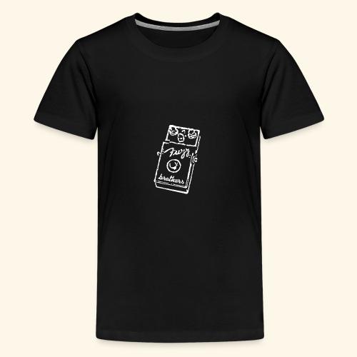 Fuzzbrothers - White - Teenager Premium T-Shirt