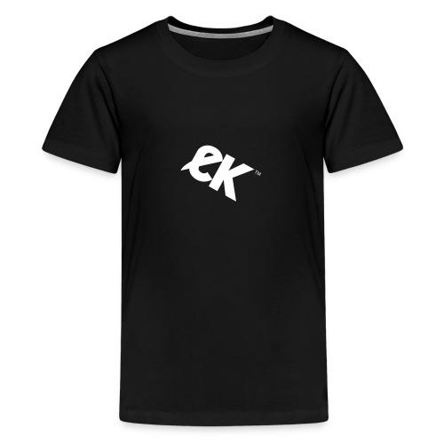 EK logo wit #1 - Teenager Premium T-shirt