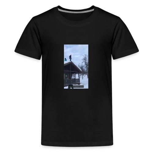 aAA magad okei - Premium T-skjorte for tenåringer
