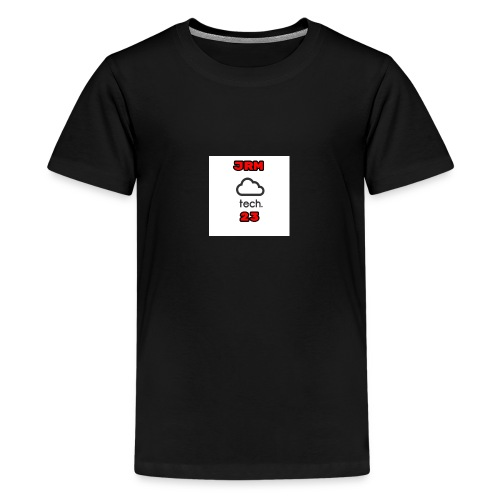 JRMTECH23 icon - Teenage Premium T-Shirt