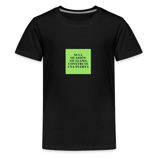 motivacion - Camiseta premium adolescente