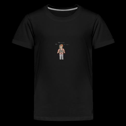 Free Alexia Design (Transparent) - Teenage Premium T-Shirt