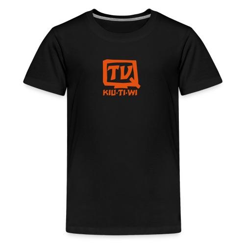 QTV - Die Show für tolle Familien - Teenager Premium T-Shirt