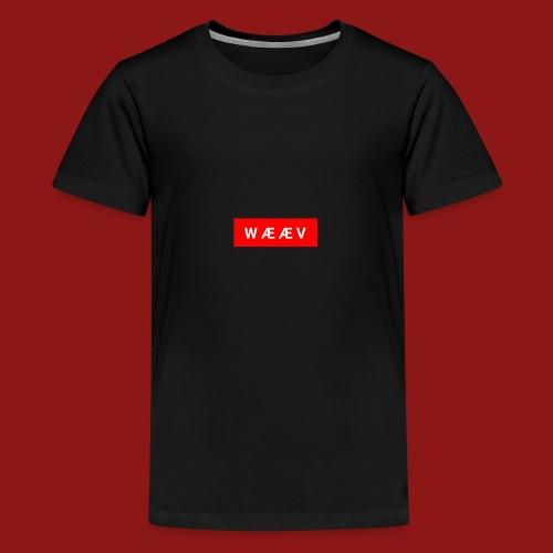 WÆÆV - Premium T-skjorte for tenåringer