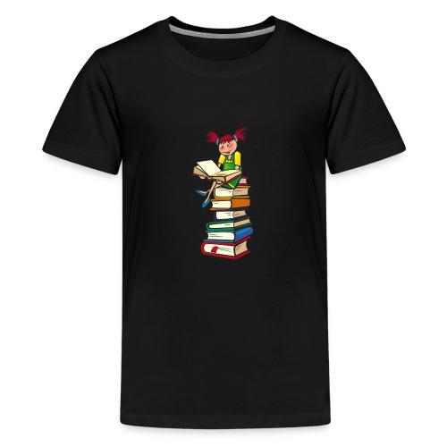 Schulmädchen - Teenager Premium T-Shirt