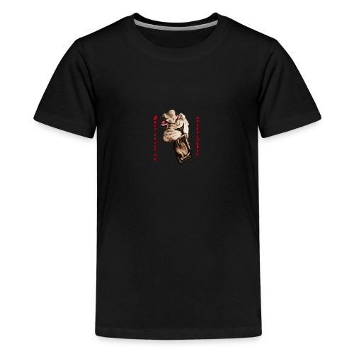 Lion4 Untouchable People! Dont touch me! - Teenager Premium T-Shirt