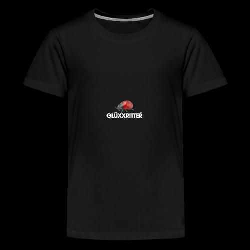geweihbär GLÜXXRITTER - Teenager Premium T-Shirt