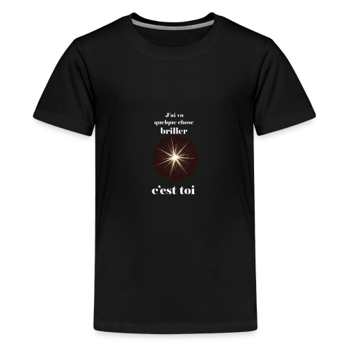 Lorgnette brillant ...amoureux ou inspiré FS - T-shirt Premium Ado