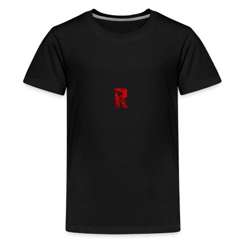 RaZe R Logo - Teenage Premium T-Shirt