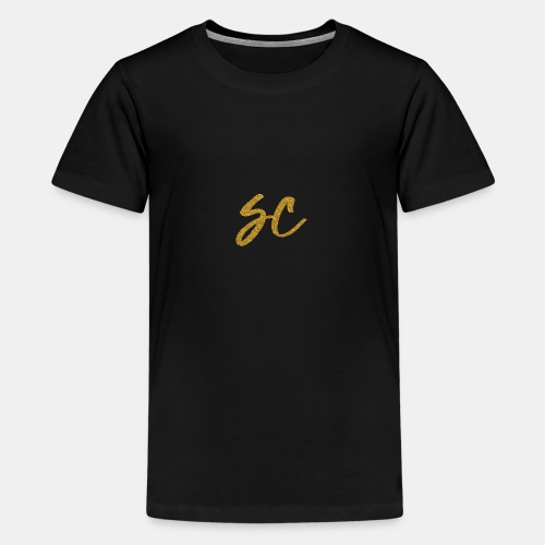 GOLD - Teenage Premium T-Shirt