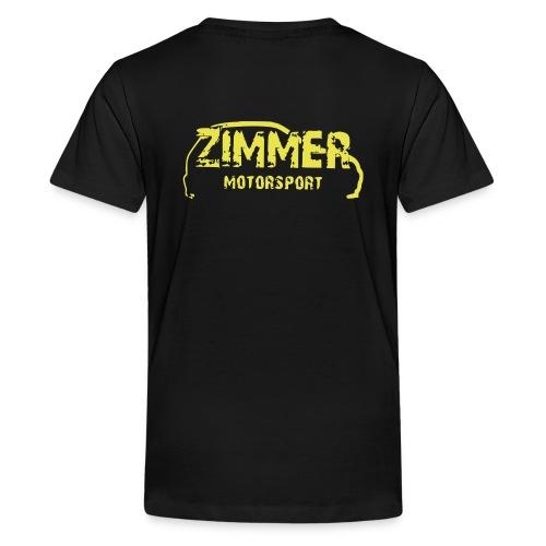 Zimmer Motorsport - Teenager Premium T-Shirt