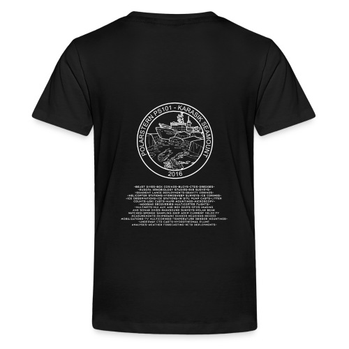 Polarstern 101 cruise shirts - Teenager Premium T-Shirt